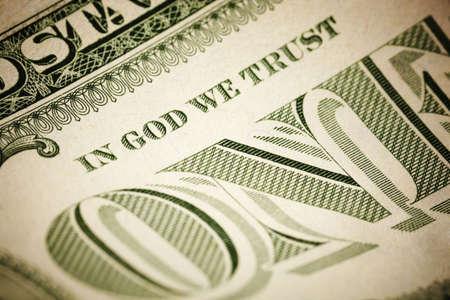 we: In God We Trust