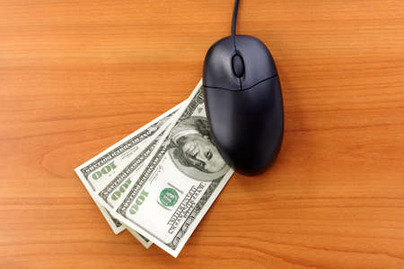 Online Banking or shopping Stock Photo - 6560347