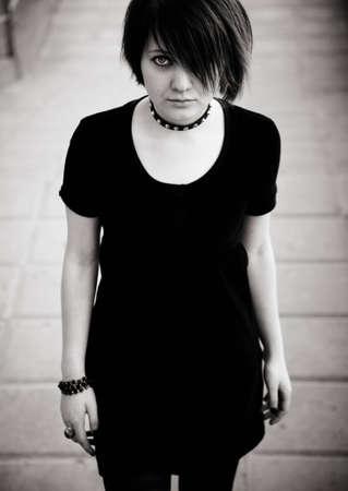 gothic girl Stock Photo - 6903432