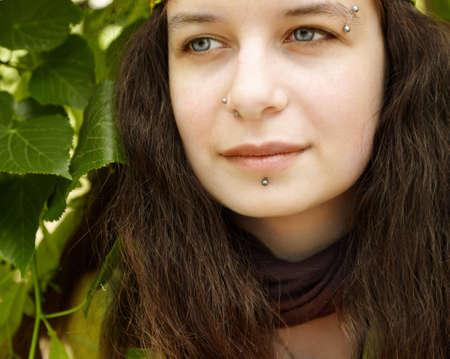 Hippie woman Stock Photo - 7317609