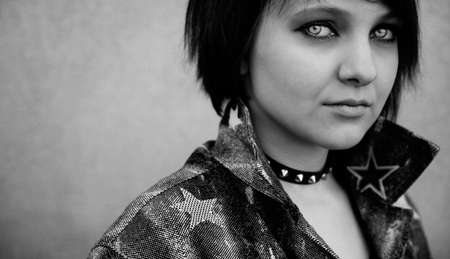 punk girl photo
