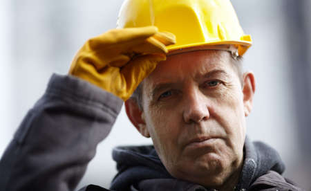 manual worker: Wise construction