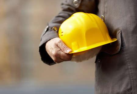 gewerkschaft: Under construction Lizenzfreie Bilder
