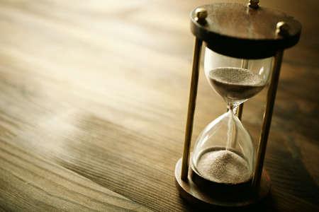concept de temps, attention sélective point, spécial sépia