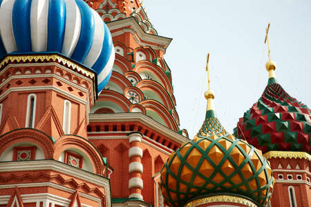 russian church: St. Basil Cathedral. Moscow.Russia