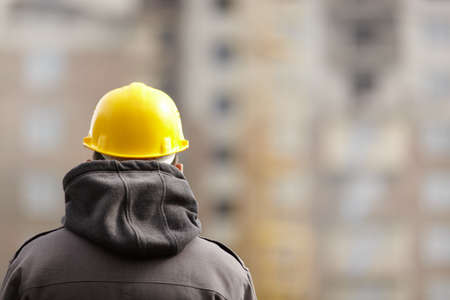 manual worker: under construction