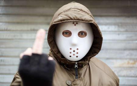 bandits: middle finger