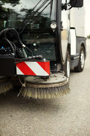 clean street: Street sweeper