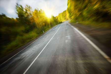 high speed , special  zoom lens blurred motion and beam f/x Stock Photo - 10988954