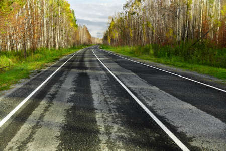 twisty: Road Running Stock Photo