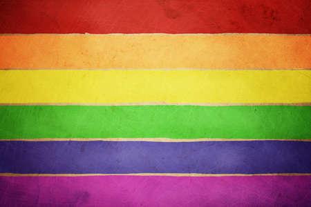 rainbow flag Stock Photo - 11537889