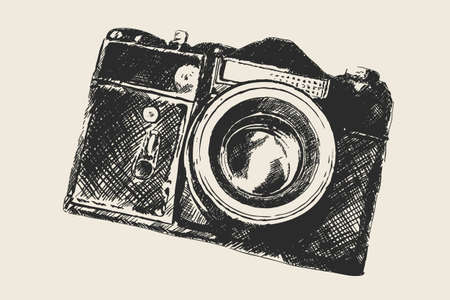 slr camera: old school photography