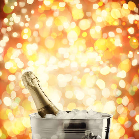 ice bucket: holiday champagne