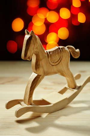 christmas horse: Merry Christmas!
