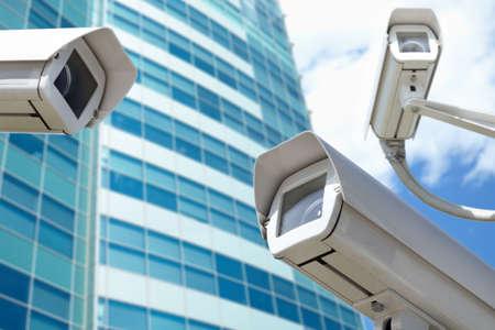 surveillance cameras Standard-Bild