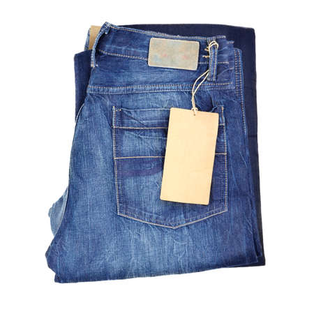 denim jeans: blue jeans isolated