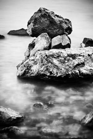 water and stones photo