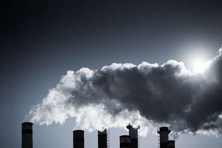 Die Luftverschmutzung Standard-Bild - 12661796