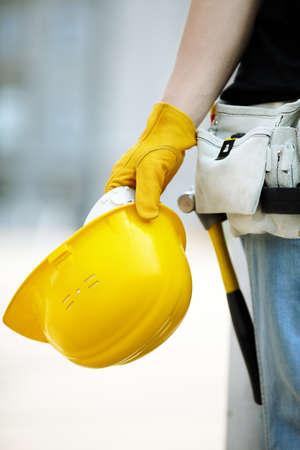 construction site helmet: under construction