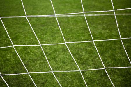sport background, goal soccer net  Stock Photo - 14356049
