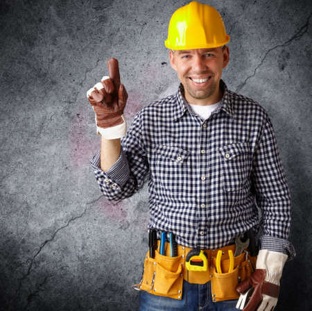 work safety: professional construction