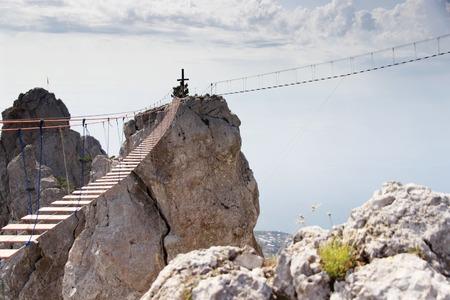 view series: Sea landscape with mountain, Russia, Crimea Yalta