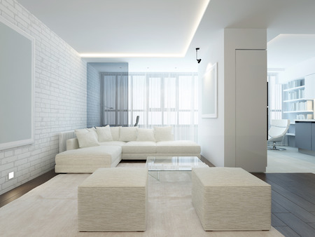 modern interior room: modern interior room with nice furniture inside Stock Photo