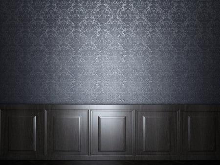wood panel wallpaper Stockfoto
