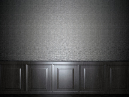 panelled: wood panel wallpaper Stock Photo