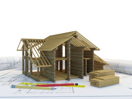 Enmarcar de construcción de nuevas viviendas Foto de archivo - 37495167