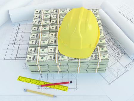 Fondo para la nueva construcción Foto de archivo - 37732756