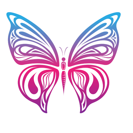 rnart: Colorful Butterfly 6