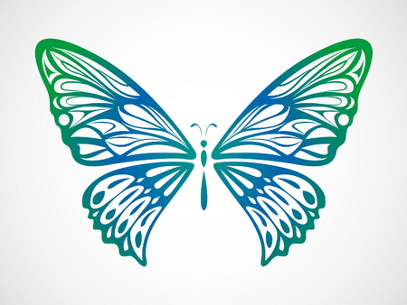 rnart: Colorful Butterfly 5