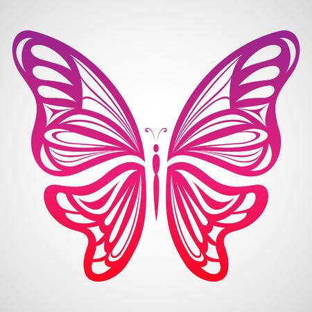 Colorful Butterfly 4 Çizim