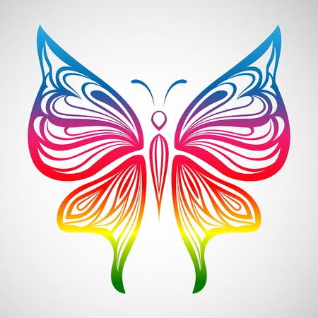 Kleurrijke Butterfly 1