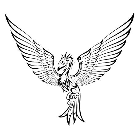 Phoenix Tattoo Çizim