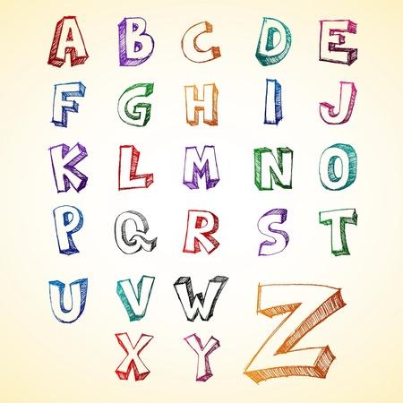 Alfabet Doodle