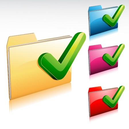 filling folder: Yes Folder Icon