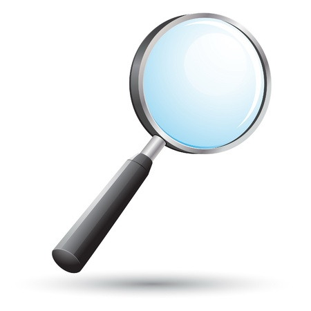 search icon: Vergrootglas