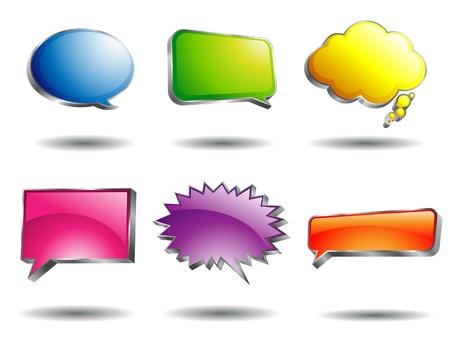 Speech Bubble Stock Vector - 9155550