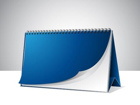 Kalendersjabloon Stock Illustratie