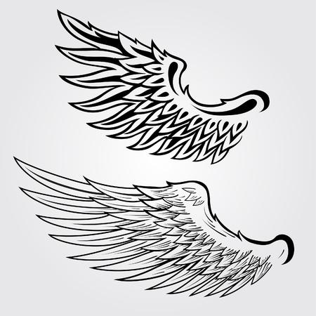 Wing illustratie