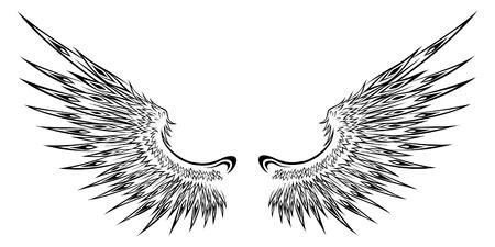 Wing  Stock Illustratie