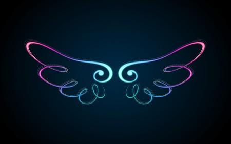 Lichtende vleugel