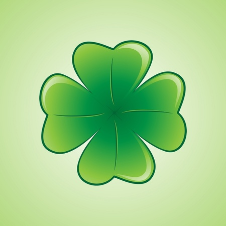 Lucky Shamrock Stock Vector - 10086819