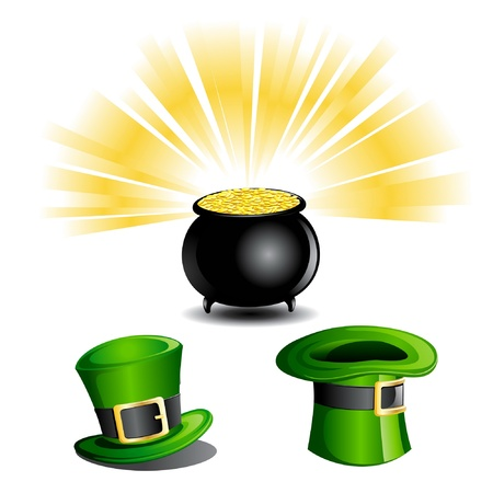 St Patrick Day Objects Stock Vector - 10086831