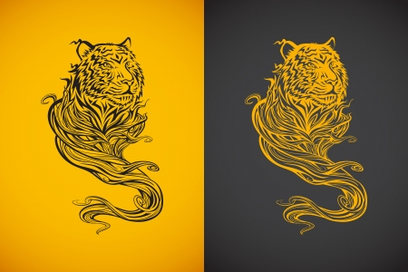 Tiger Spirit Vector