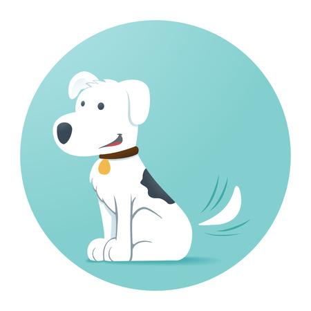 Perro de dibujos animados Foto de archivo - 32453200