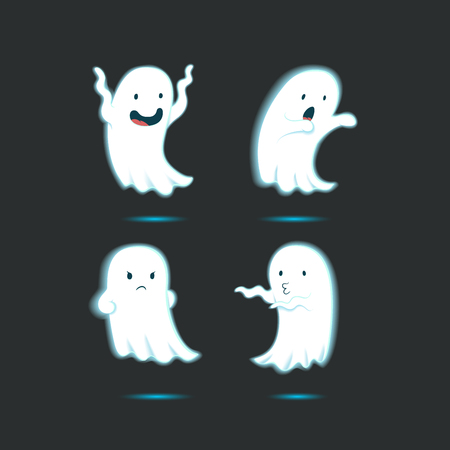 ghost character: Funny cartoon ghost character 2