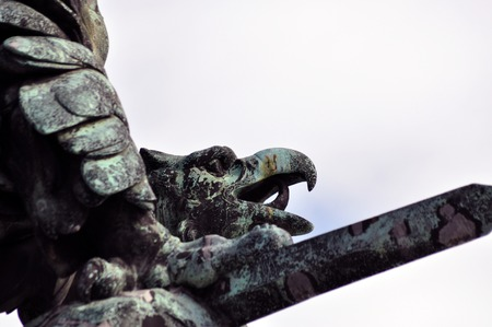 formidable: formidable eagle as monument